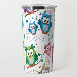 CUTE PLAYFUL OWL Travel Mug
