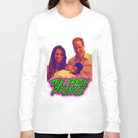 fresh prince Long Sleeve T-shirts featuring The Fresh Prince by Matheus Lopes