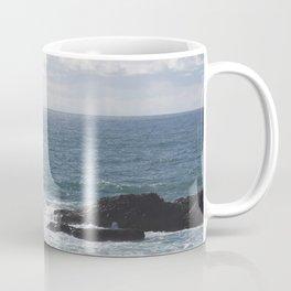 Serene scene at the Oregon beach Coffee Mug