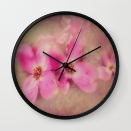 Dogwood Blossom Beauty Wall Clock