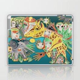 giraffe shaman Laptop & iPad Skin