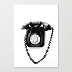 Telephone Canvas Print