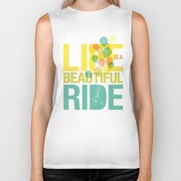 Life is a Beautiful Ride Biker Tank