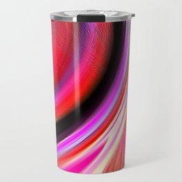 Re-Created  Aurora IX by Robert S. Lee Travel Mug