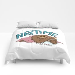 Nap Time Sloth Comforters