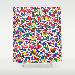 Terrazzo Confetti Shower Curtain