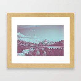 An Acorn and a Chestnut Framed Art Print