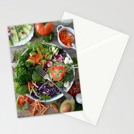Vegan summer III Stationery Cards
