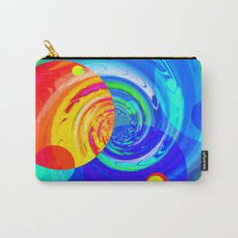 Re-Created Twisters No. 11 by Robert S. Lee Carry-All Pouch