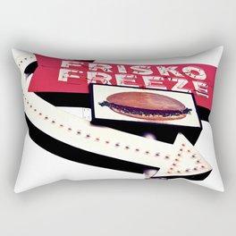Nostalgic drive-thru Rectangular Pillow