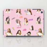ultraviolence iPad Cases featuring lanapattern by evenstarss