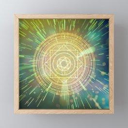 Strange Magic Mandala 3 Framed Mini Art Print