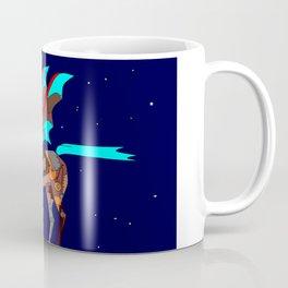 Steampunk Pegasus, Mechanical Horse Coffee Mug