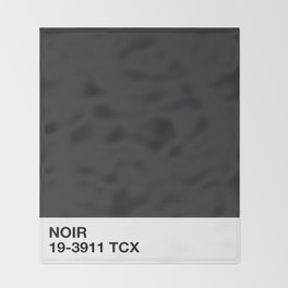 noir Throw Blanket