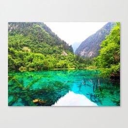 ANCIENT GLORY // Five Flower Lake, Jiuzhaigou Canvas Print