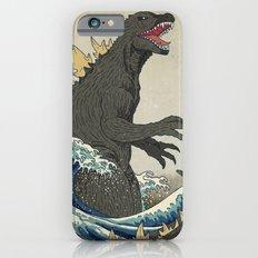 The Great Godzilla off Kanagawa Slim Case iPhone 6