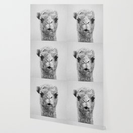 Camel - Black & White Wallpaper