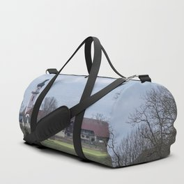 View on Peter and Paul church Laupheim-Germany Duffle Bag