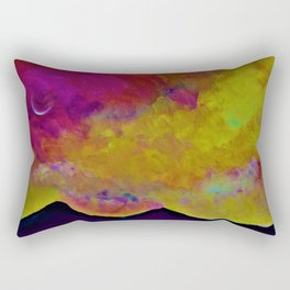 SPRING SKY OVER MOURNE MOUNTAINS Rectangular Pillow