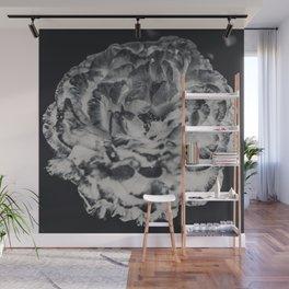 Desert Rose in Black and White Wall Mural