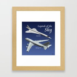 Legends of the Sky Framed Art Print
