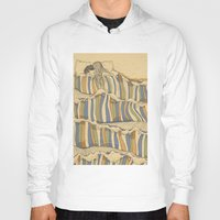 artists Hoodies featuring Ocean of love by Huebucket