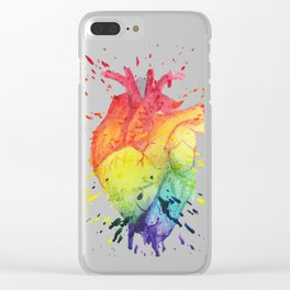 Have a Heart Clear iPhone Case