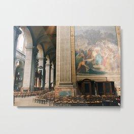 cathedral light Metal Print