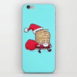 Santa Pancake iPhone Skin