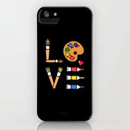 Art Art Lovers iPhone Case
