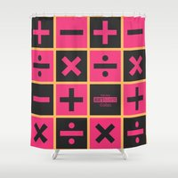 jojo Shower Curtains featuring JoJo Vento Aureo Trish Una by El Cadejos