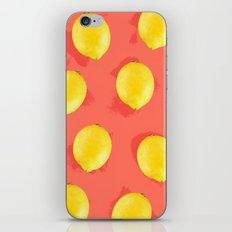 Watercolor Lemons iPhone & iPod Skin