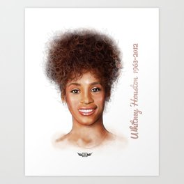Houston, Whitney Art Print