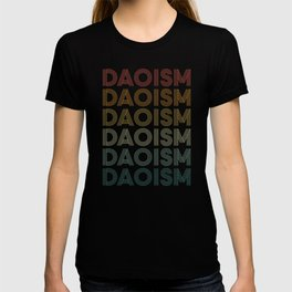 Daoism In Retro Style T-shirt