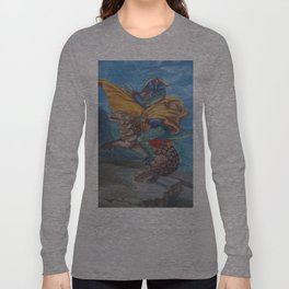 napoleonic dinosaur Long Sleeve T-shirt