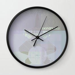 DOMINARE #everyweek 4.2017 Wall Clock