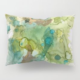 Lime Splash Pillow Sham