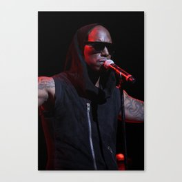 Tyrese Gibson at Club Nokia Canvas Print