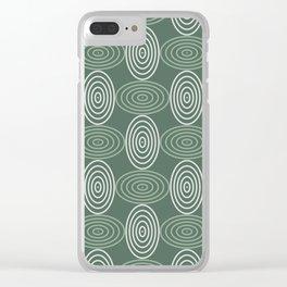 Op Art 66 Clear iPhone Case