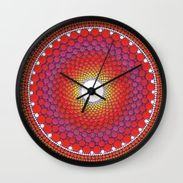 Sublime Summer Sunset Wall Clock
