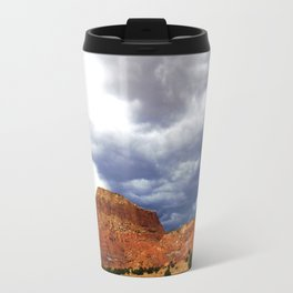 Before the Rains Came, on the Mesas and Buttes of New Mexico Travel Mug