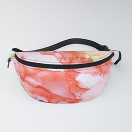 Coral Echoes Fanny Pack