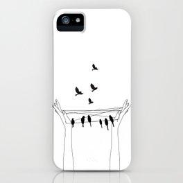Cat's cradle iPhone Case