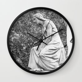 female statue Wall Clock