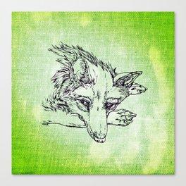 NV: Keer: green Canvas Print