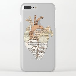 Sound Of My Heart Clear iPhone Case