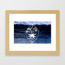 define distress Framed Art Print