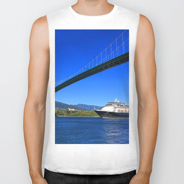 Lions Gate Bridge Biker Tank