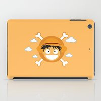 luffy iPad Cases featuring Captain Monkey D. Luffy by ARI RIZKI
