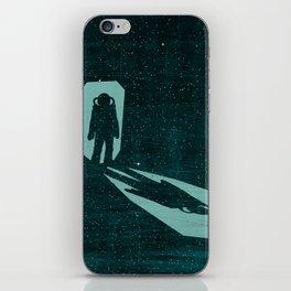 A door through space iPhone Skin